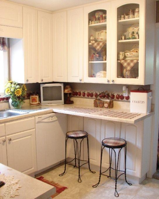 Small Country Kitchens Small country kitchen, maximizing every - small country kitchen ideas