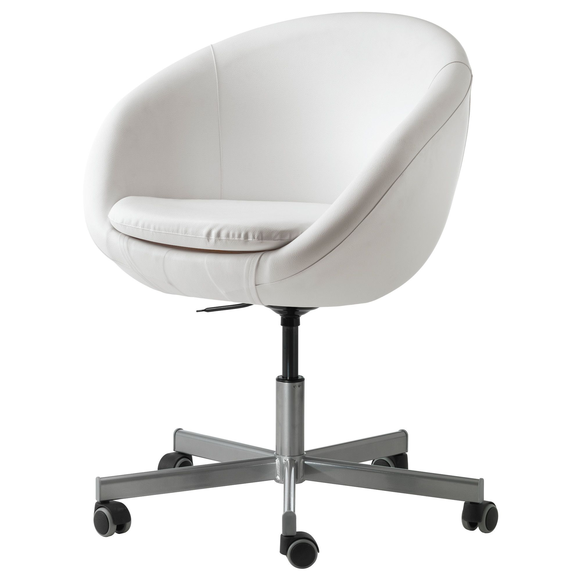 White Desk And Chair Skruvsta Swivel Chair Idhult White Swivel Chair Room