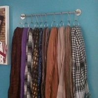 Best 25+ Storing scarves ideas on Pinterest | Curtains ...