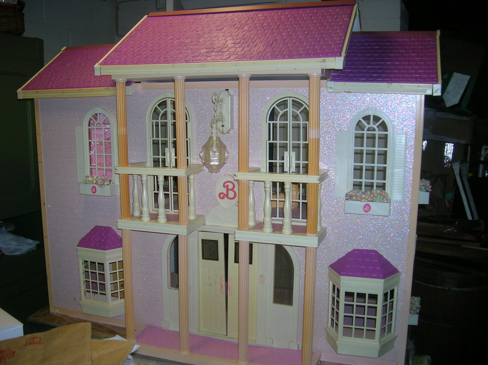 Barbie House Design Doll House Plans Barbie Mansion Dollhouse Crafty