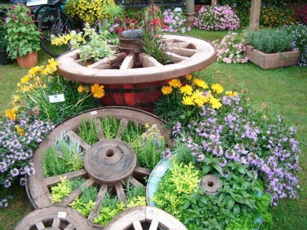 mein räder schöner garten dekoartikel Jardim Pinterest - schoner garten bilder