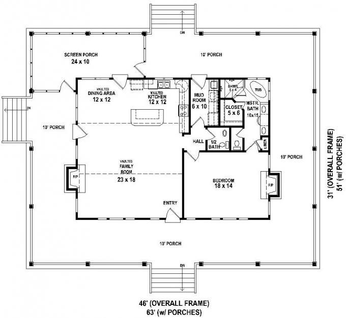 Rectangle House Plans 30x50 rectangle house plans expansive one