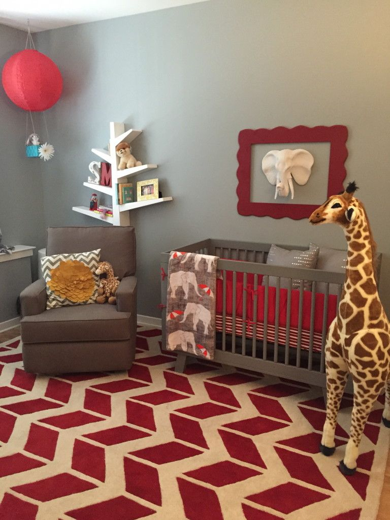 Babyzimmer Rot Samar's Circus Nursery | Discover More Best Ideas About