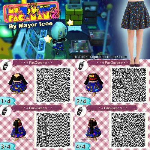 Fall Wallpaper Animal Crossing New Leaf Animal Crossing New Leaf Pacman Skirt Qr Code Animal