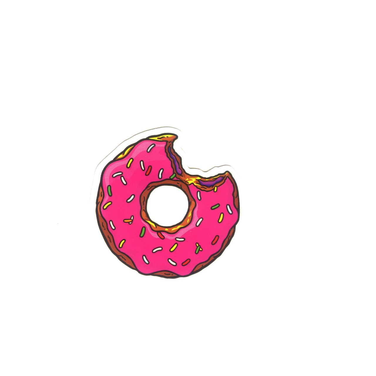 Gravity Falls All Characters Wallpaper 1145 The Simpsons Donut 4 Cm Small Size Decal Sticker