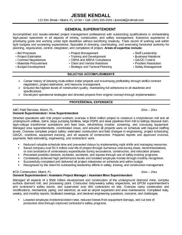 Amazing 10 General Resume Objective Examples 2015 Amazing 10 - construction resume objective