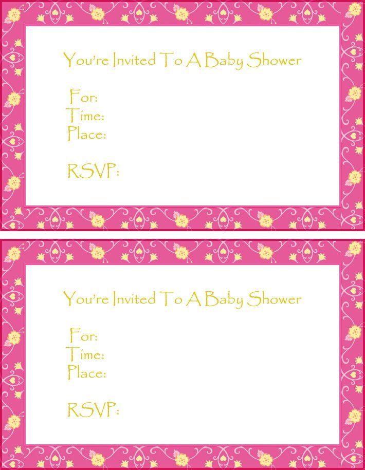 free printable owl baby shower invitations templates Baby Shower - free baby shower invitation templates printable
