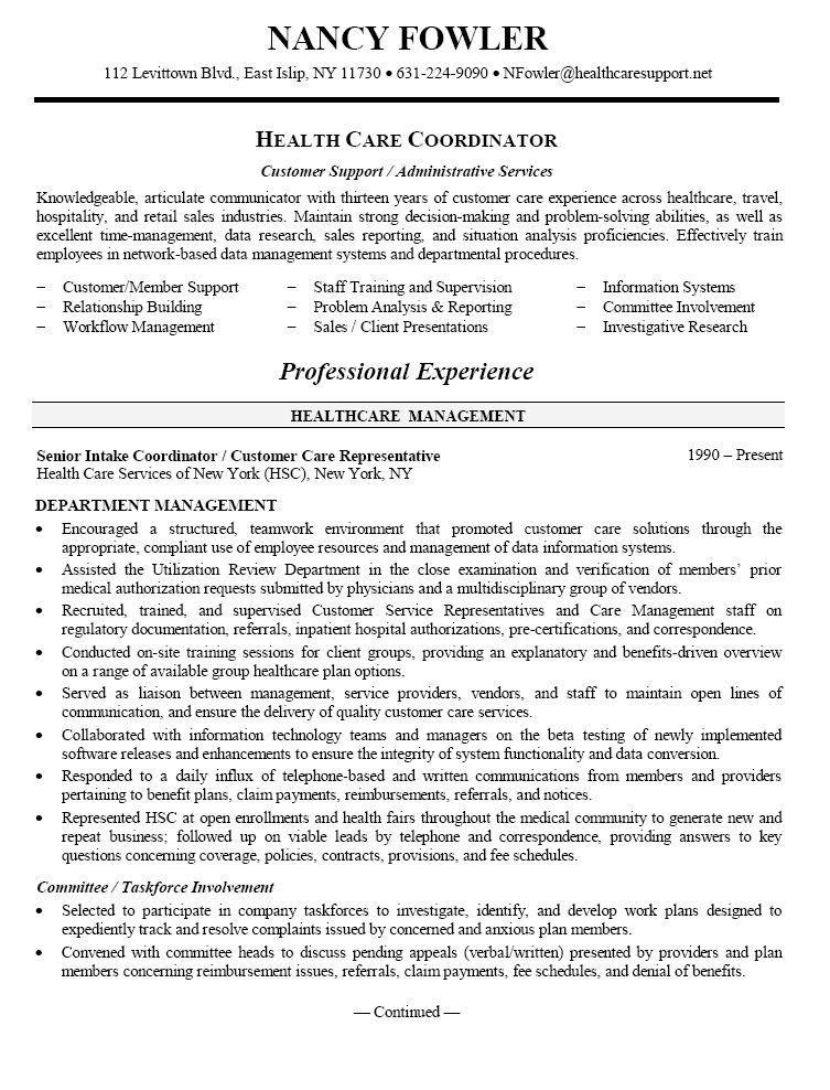 Healthcare Resume Objective Sample - Healthcare Resume Objective - resume objective ideas