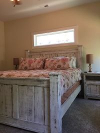 Reclaimed wood furniture/solid wood bed/rustic furniture ...