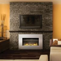 in wall propane fireplaces