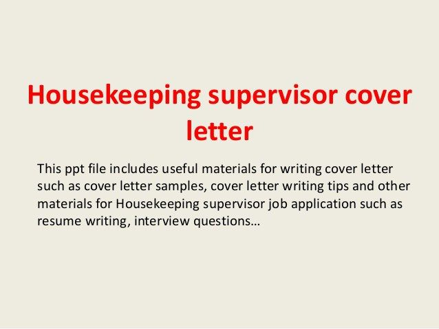 letter for resignation from job examples myideasbedroom best - housekeeping cover letter