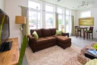 yellow sofa with tan walls | ... Wall Color And Brown ...