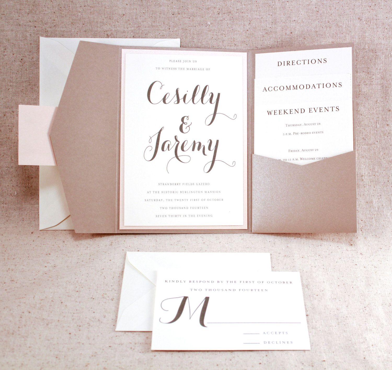 formal wedding invitations Unique wedding invitation