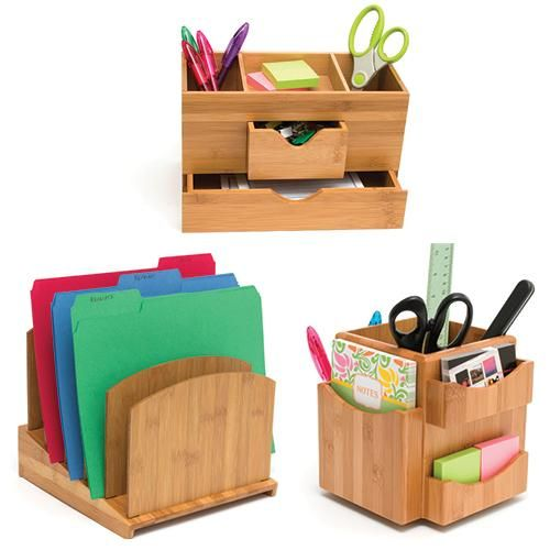 Organize Your Desk And Office Supplies With These Stylish