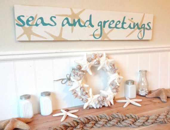 6 Simple Holiday Home Improvements To Give Your Guests Coastal - beach themed christmas decorations