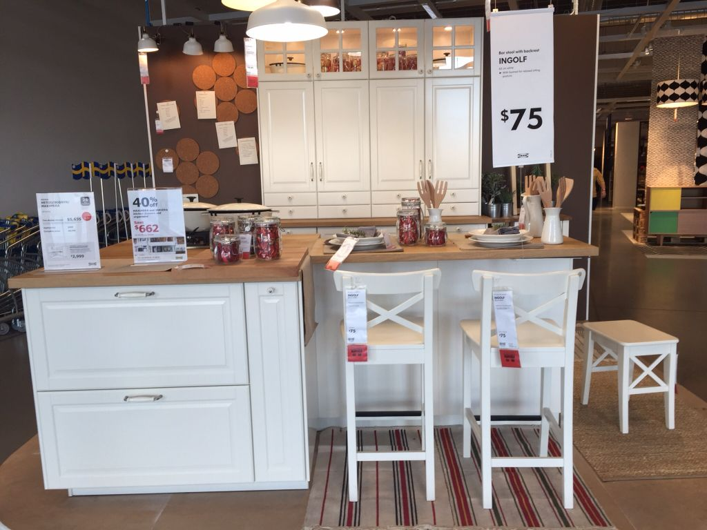 Metod Ikea Kücheninsel Ikea Kitchen Metod Bodbyn Kuchnia Pinterest Kitchens