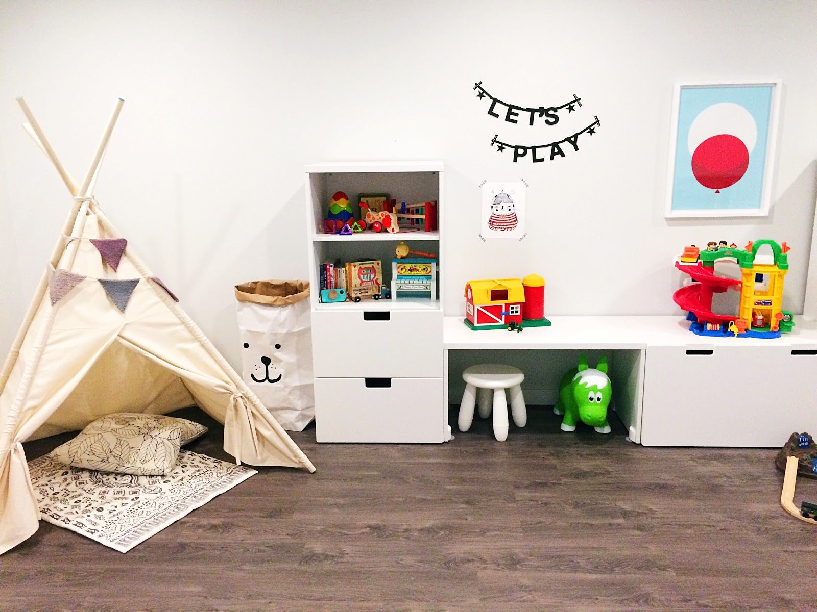 Ikea Hacks Stuva Playroom Makeover With Ikea Stuva System Kids 39 Rooms