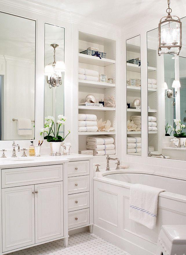 25 Traditional Bathroom Design Ideas White master bathroom - traditional bathroom ideas