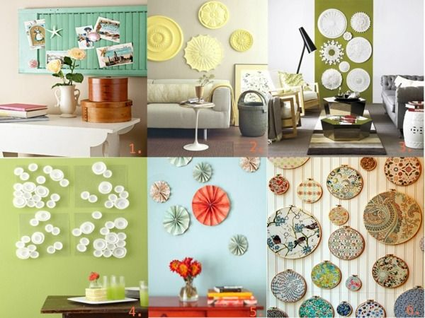 25 DIY Decorating Ideas from kreative Wandgestaltung-Ideen Zuhause - kreative wandgestaltung