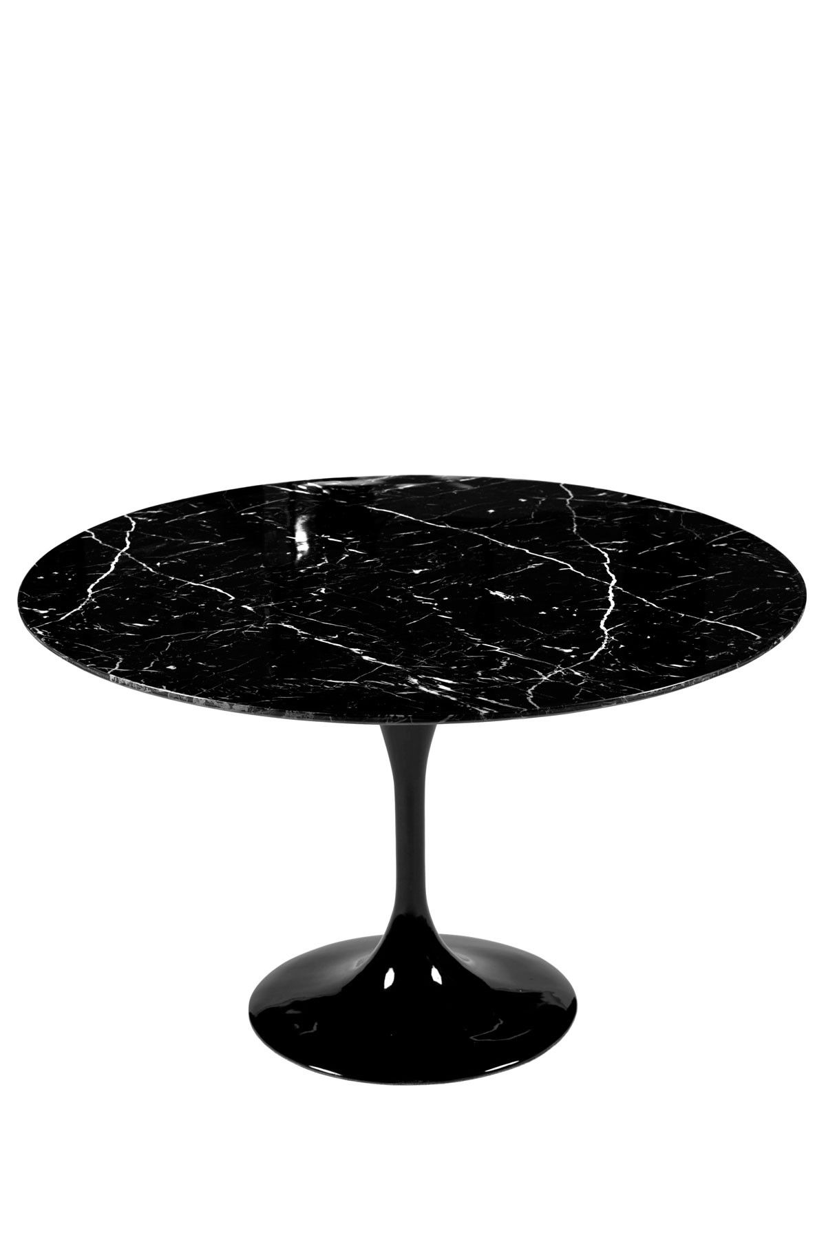 Round Marble Top Dining Table Tulip Marble Top Round Table Black Pinterest Marble