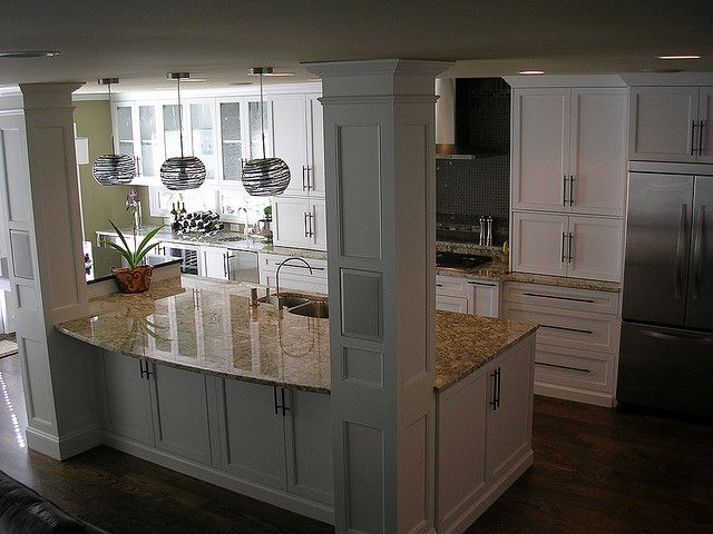 Kitchen Island Overhang For Stools Best 25+ Kitchen Island Pillar Ideas On Pinterest