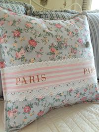 French Country Pillow Cover, Shabby Chic Pillow Cover ...