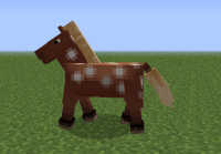 minecraft+horse | How to Tame Horses in Minecraft 1.6 ...