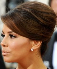 eva longoria audrey hepburn updo - Google Search | Wedding ...