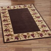 wine and grapes kitchen rugs - Google Search | Stuff to ...
