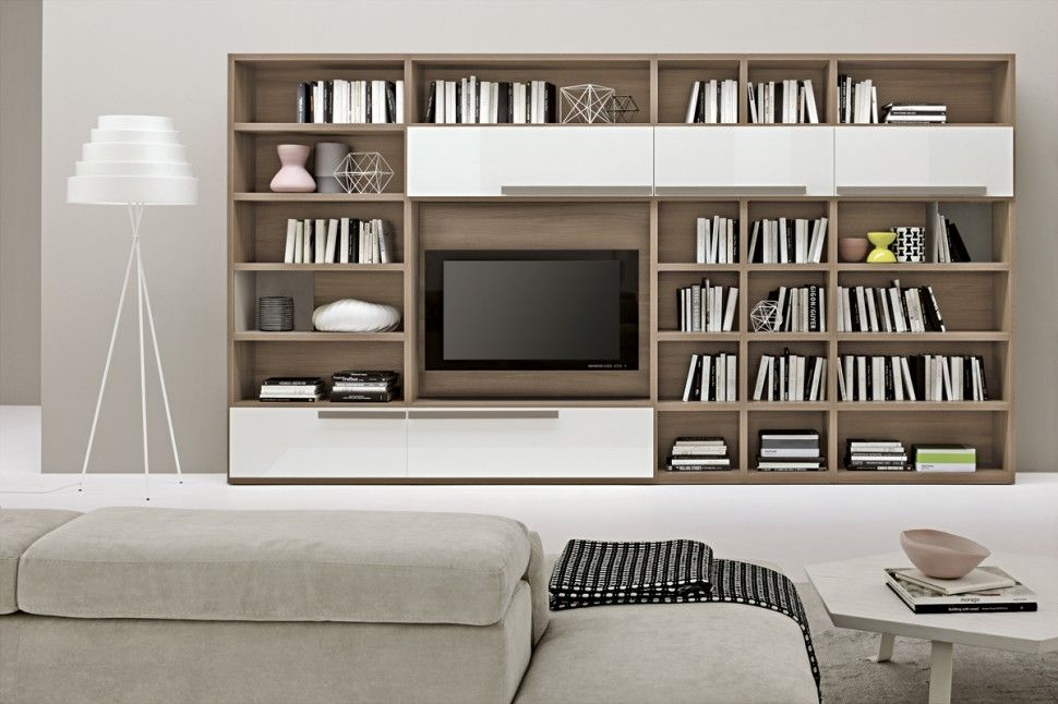 FurnitureModern Contemporary High Quality Wall Mounted Shelves - living room shelf unit
