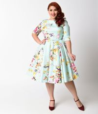 Plus Size Vintage Dresses, Plus Size Retro Dresses | Retro ...