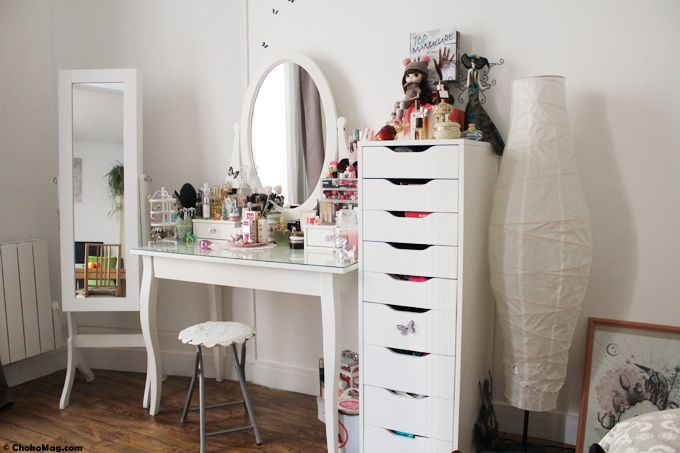 Coiffeuse Design Blanche 17 Best Ideas About Coiffeuse Ikea On Pinterest