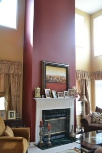 Accent Wall for Mantel/Fireplace | |Home| Furnishings ...