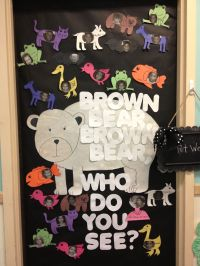 Brown Bear theme week - Brown bear classroom door | Early ...