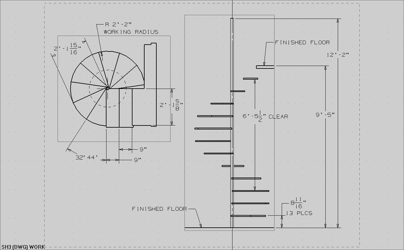 Staircase Plans Drawing House Plans With Circular Staircase How To Build A