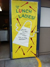 2013 Door for the Cafeteria Staff. Wizard of OZ theme ...