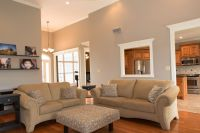 Family Room - Behr Perfect Taupe | Paint | Pinterest ...