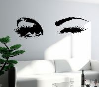 Wall Decal Eyes Sexy Girl Woman Vinyl Sticker Unique Gift ...