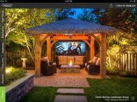 15 Dramatic Landscape Lighting Ideas   Tiki hut, Backyard ...