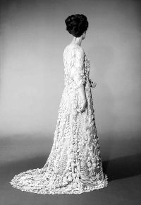 Irish crochet lace wedding dress | Irish Crochet ...