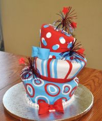 4th of July Cake Ideas   Red white blue, July 4th and Dr ...