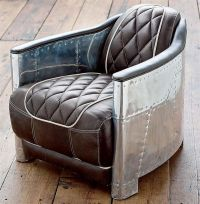 Aviator club chair