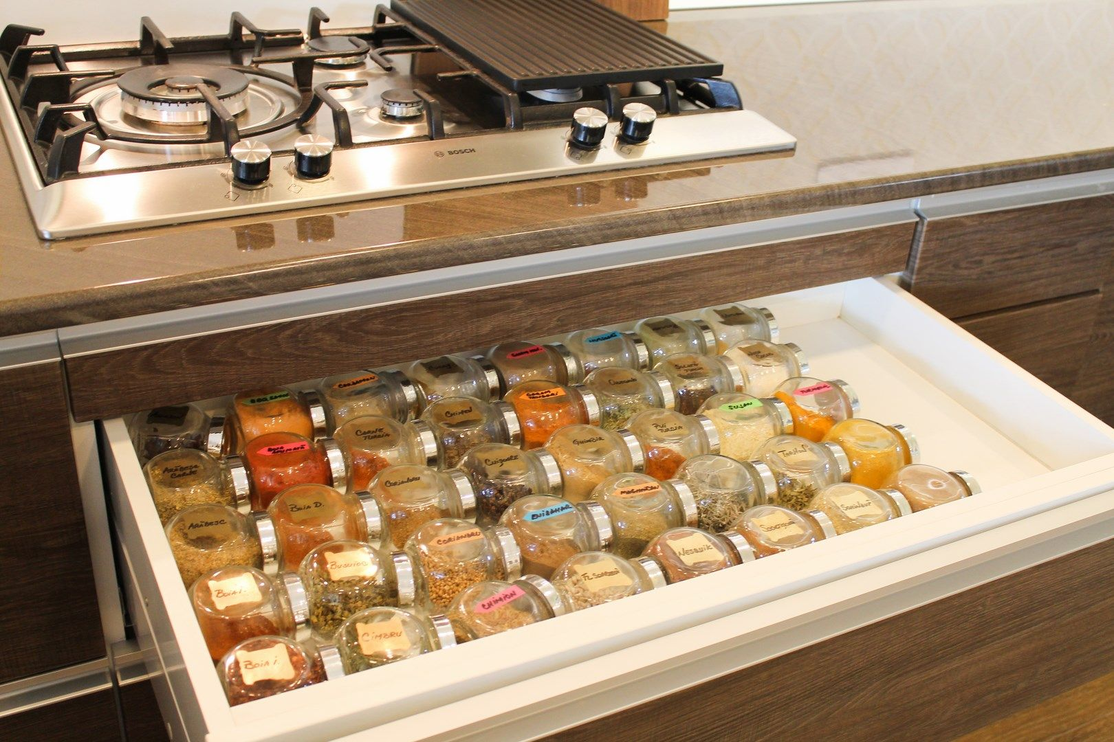 Creative Spice Storage How To Organize Your Spices And Herbs In The Kitchen Pic