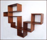 Wonderful Floating Abstract Bookshelf Design Inspiration ...