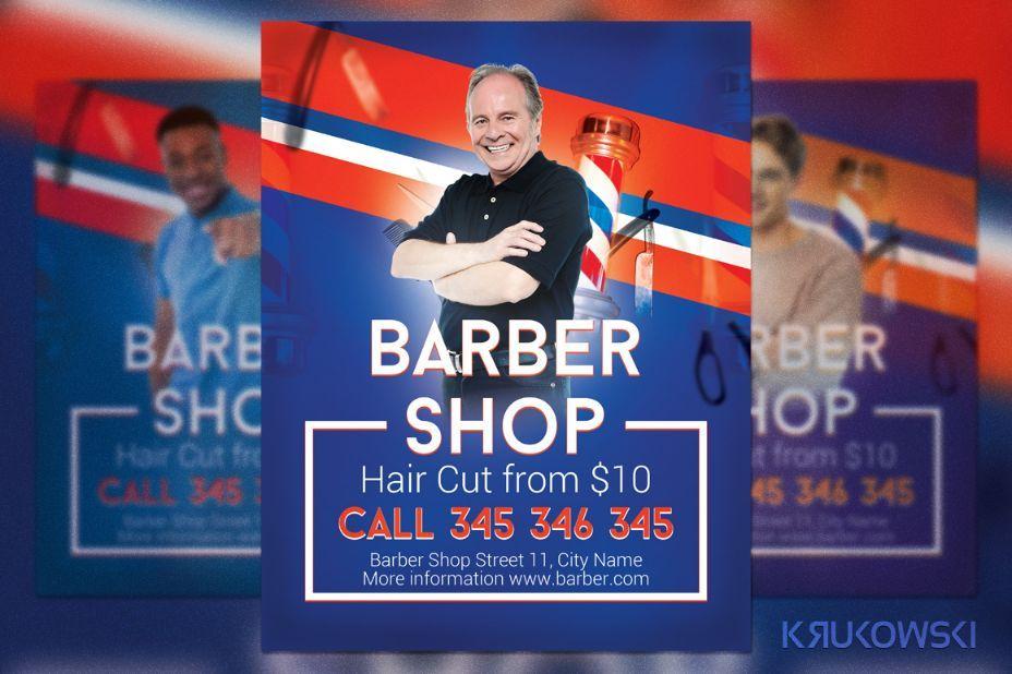 simple-barber-shop-flyer-template 20+ Barber Shop Flyer Template - campaign flyer template