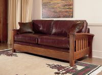 Stickley Orchard Street Sofa | Living in Leather ...