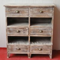 Distressed Country Drawers Reclaimed Wood Furniture ...