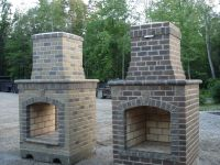 How to Build an Outdoor Brick Fireplace | Fireplace ...