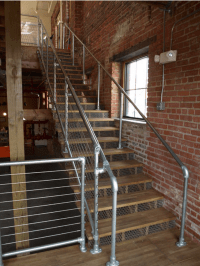 Industrial pipe galvanized steel handrail - KiteMedia.co ...