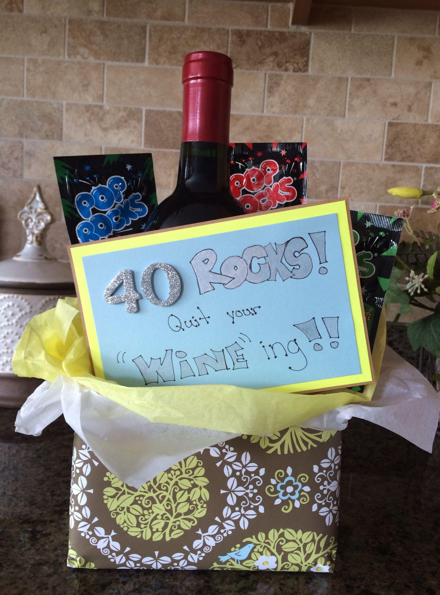 40th Birthday Gift Idea Creative Ideas Pinterest
